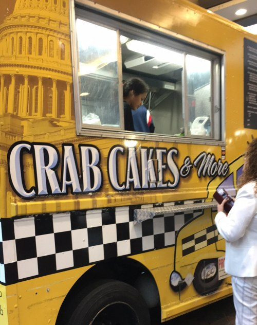 Apparently the only picture I took of any of our food in Washington! The Crab Cab.