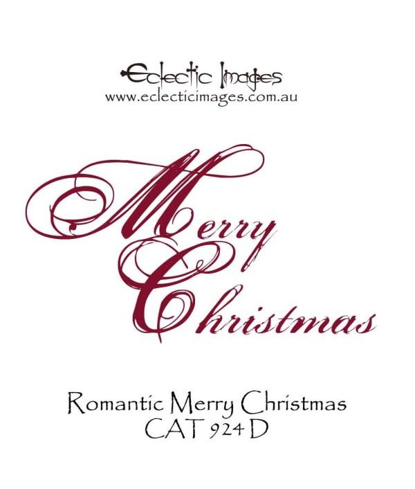 Merry Christmas Romantic