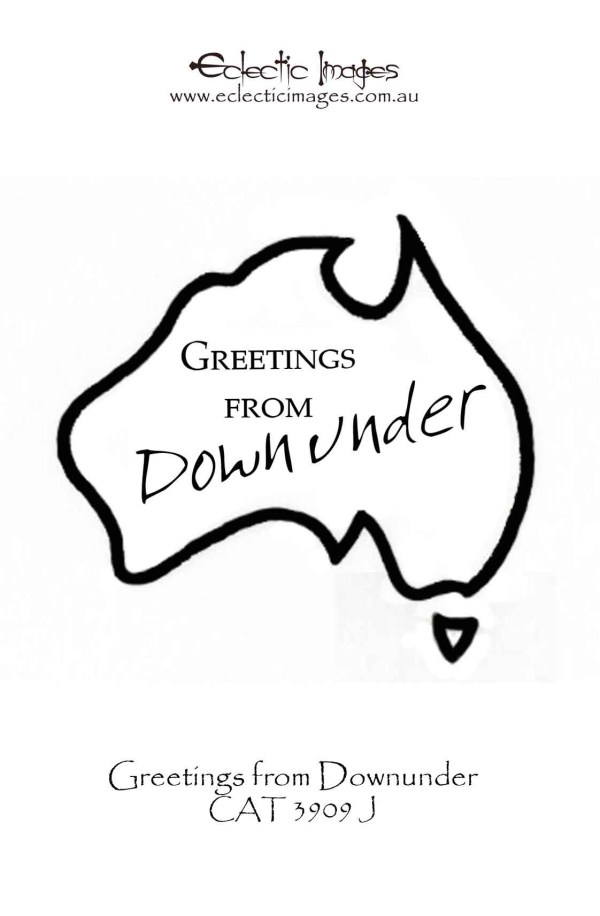 Greetings from Downunder