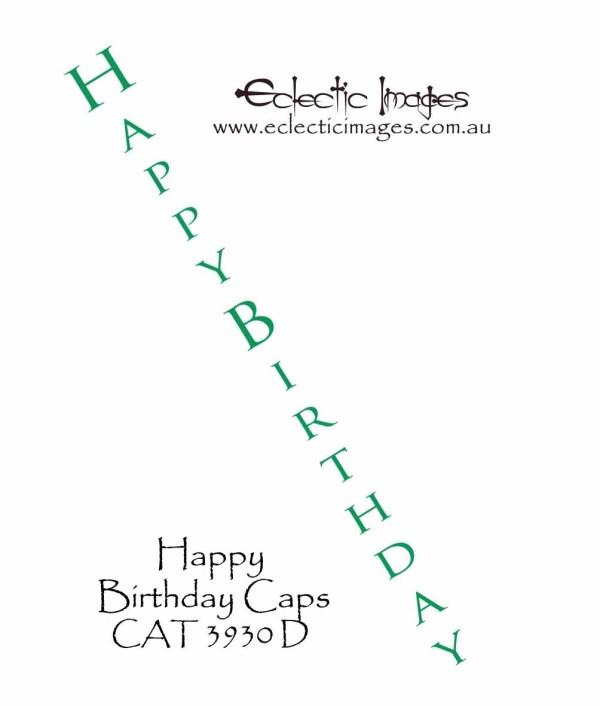Happy Birthday Caps