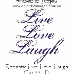 Romantic Live Love Laugh