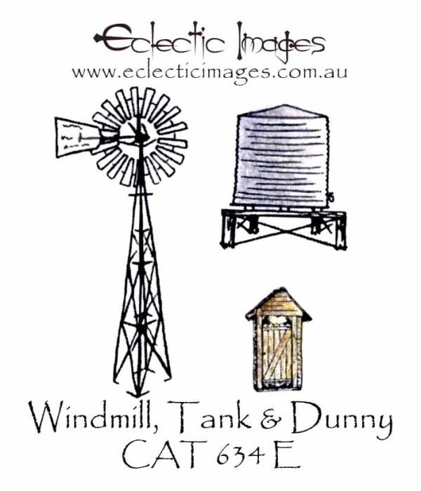 Windmill, Tank & Dunny
