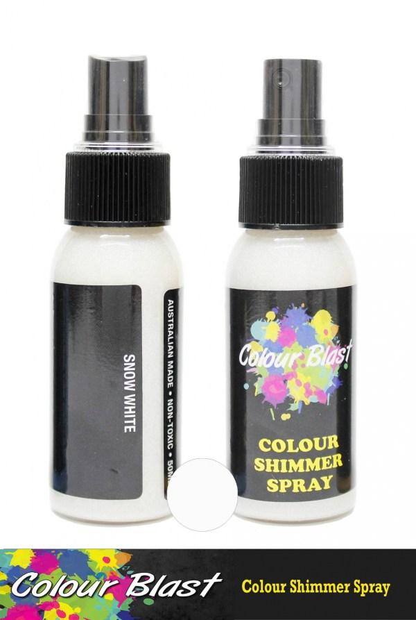 Colour Shimmer Spray Snow White
