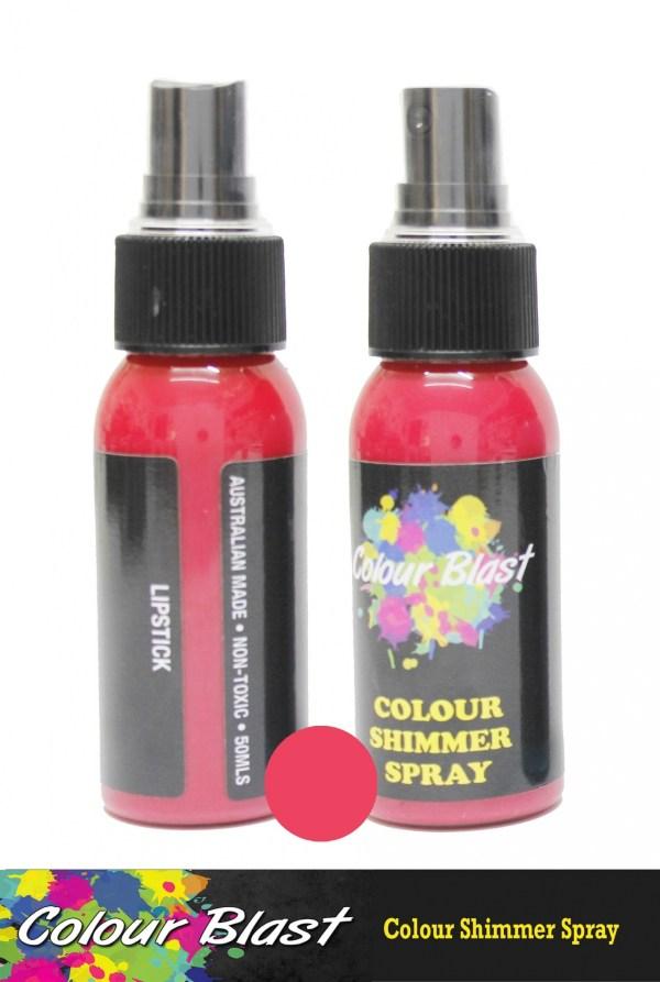 Colour Blast Shimmer Spray Lipstick