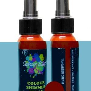 Colour Blast Shimmer Spray Tangerine Dream