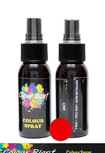 Colour Blast Colour Spray Love