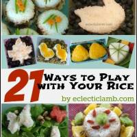 21 Ways to Play with Your Rice