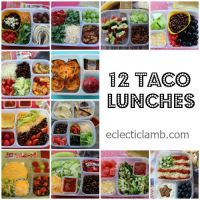 12 Taco Lunches for Teen