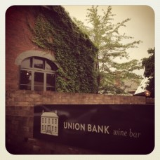 Union Bank wine bar