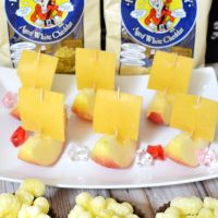 Pirate Ship Apple Snacks | Talk Like a Pirate Day Snack and Play Ideas
