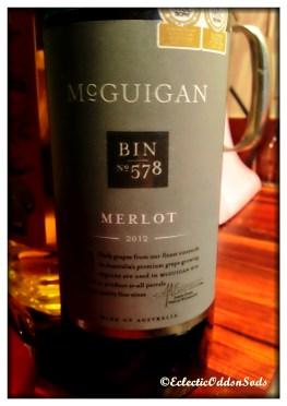 Just a nice little merlot to put in, didn't have what I should of handy, still tasted good though :-)