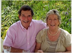 Carol and Mike, the former my younger 'fairy mother'