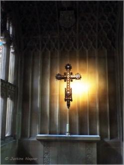 Sunlit cross