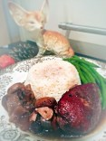 Red Wine-Braised Chicken And Mushrooms