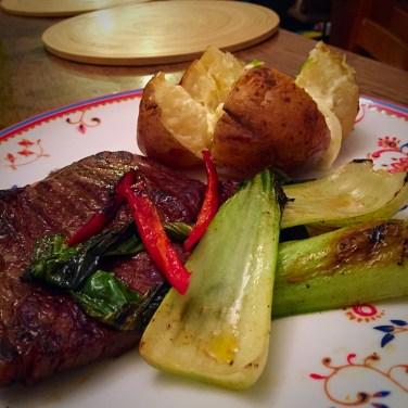 Rump steak treat - low FODMAP