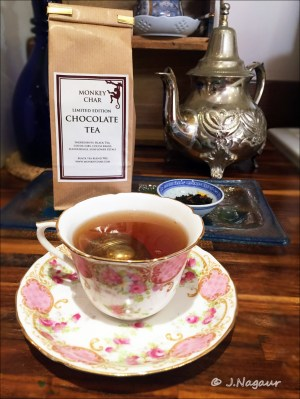 Monkey Char chocolate tea, Tea Time #12