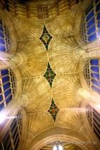 Bath Abbey Ceiling United Kingdom