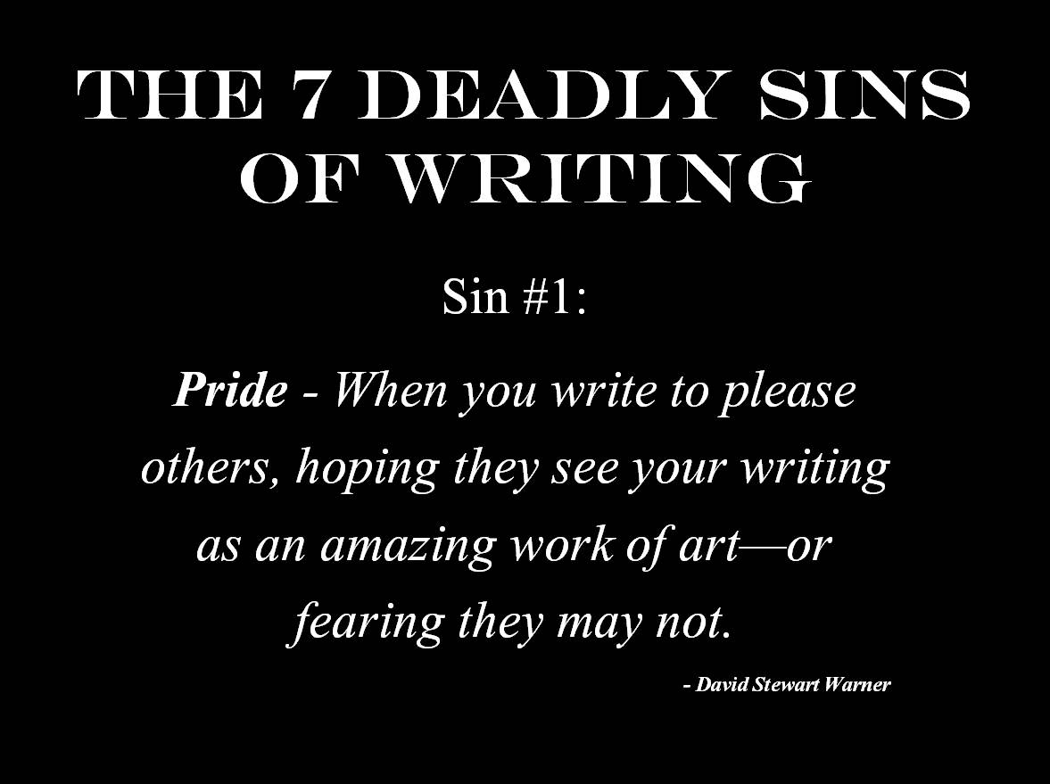 The 7 Deadly Sins Of Writing 1