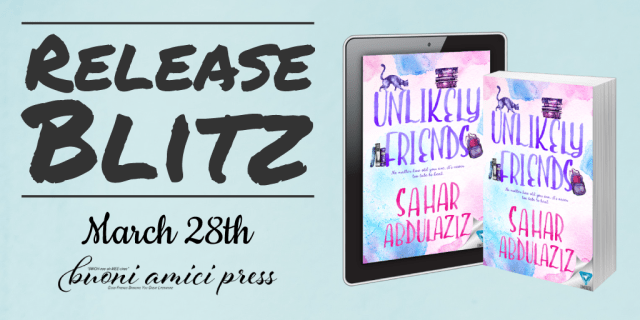 Unlikely Friends Book Blitz