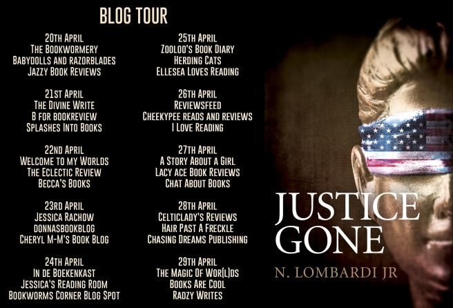Justice Gone Blog Tour