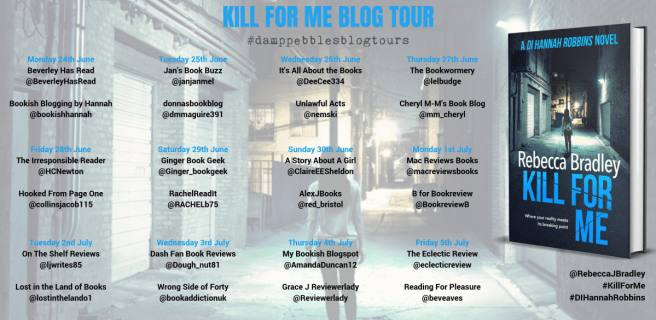 Kill For Me Blog Tour