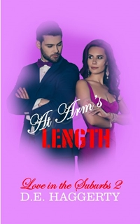 At Arm's Length (Love in the Suburbs, #2) by D.E. Haggerty