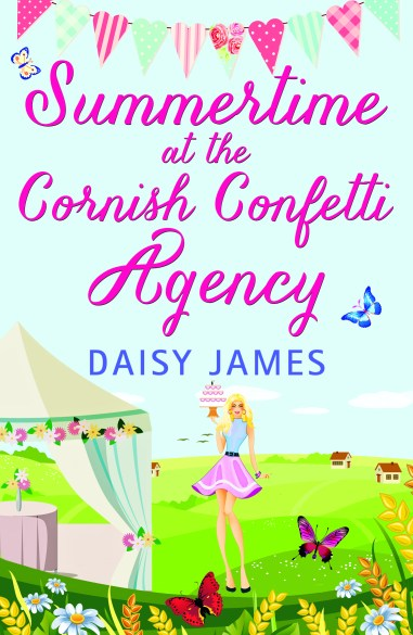 SUMMERTIME at the CORNISH CONFETTI AGENCY - Daisy James - cover