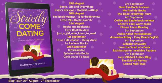 Strictly Come Dating Full Tour Banner -