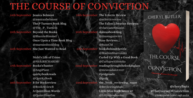 The Course of Conviction banner