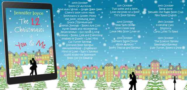 The 12 Christmases of You & Me Full Tour Bannner
