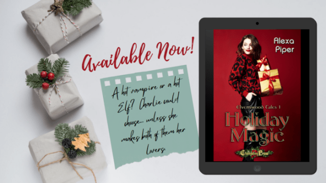 available now TWITTER 1 Holiday Magic by Alexa Piper