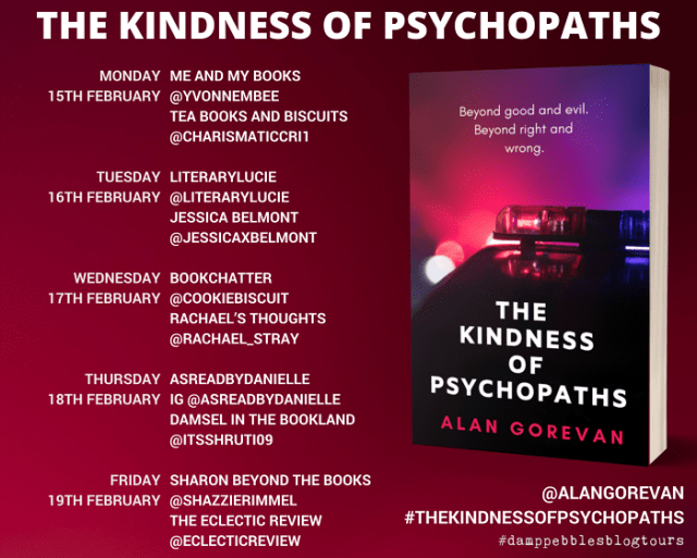The Kindness of Psychopaths banner