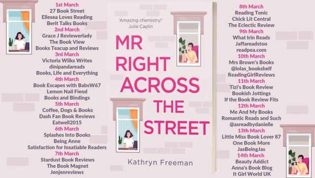 Mr Right Acrss The Street Full Tour Banner