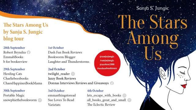 The Stars Among Us Book Tour Poster