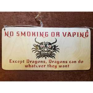"""No Smoking"" sign by Eclectics Creations"