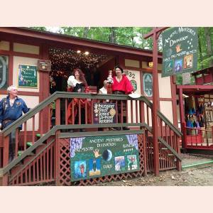 Ancient Mysteries Divination at Maryland Renaissance Festival