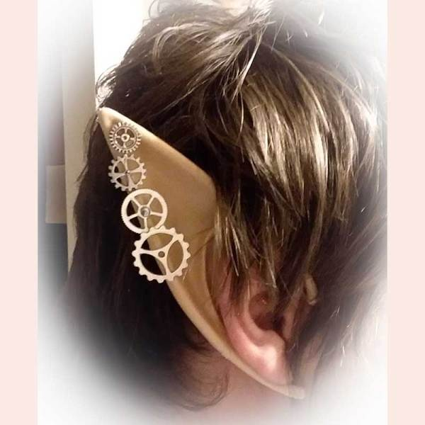 Steampunk elf ears by Candy's Creations 4 U