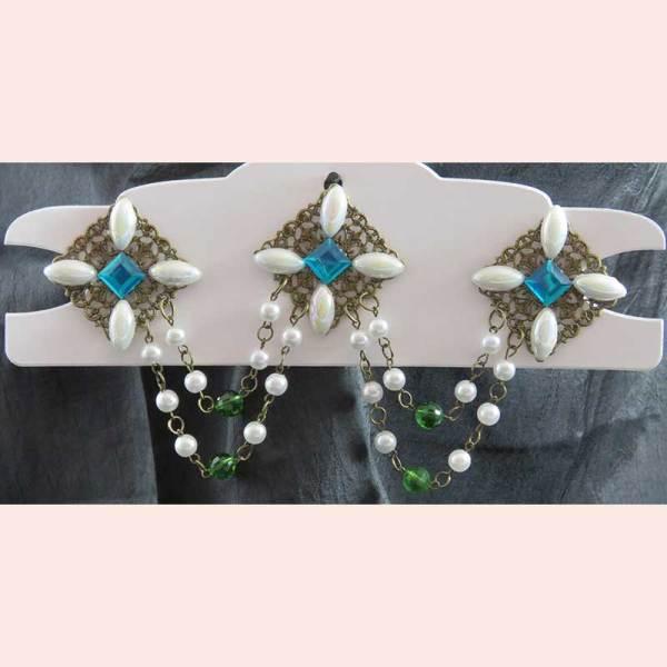 Bodice Adornment by Majestic Pearl Historical Attire