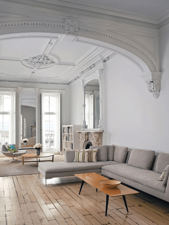 A Victorian townhouse in NY living | Eclectic Trends