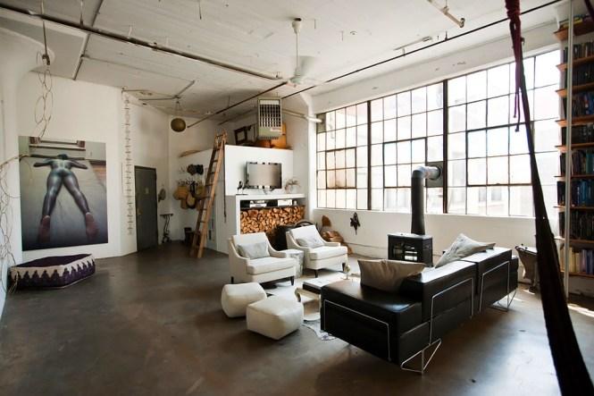Loft Brooklyn Living 2