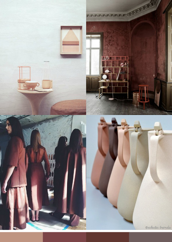 Eclectic Trends Earth Color Trend 201617