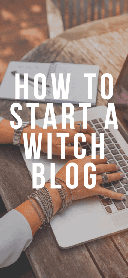 How to start an occult blog and monetize it. Do you want to start a pagan homeschool blog? These tips will help you start witch blogs and find success no matter what your niche is. Blogging business tips for witches. #witchcraft #witch #pagan #wicca #blog #blogging