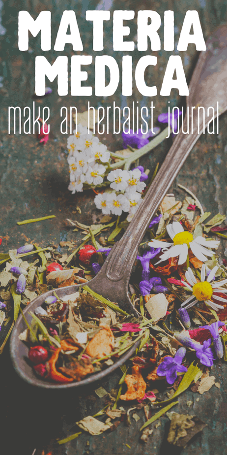 Make your own materia medica printables. How to make an herbalist's journal. #herbalism #herbs #herbal #homeopathy #ayurveda #witchcraft #witch