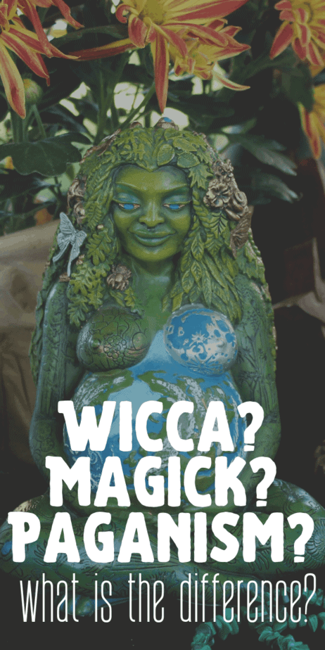 What is the difference between witchcraft (magick), Wicca, and paganism? Find out in this informative blog post. Do they have different lifestyles? #witchcraft #witch #pagan #wicca #paganism #wiccan #magick #occult #magic