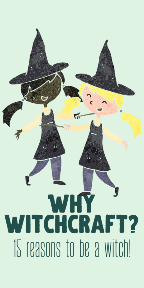 Occult magick for beginners. Why did you become a witch? Includes a list of 15 reasons to be a witch. Magick for beginners. #witchcraft #witch #pagan #wicca #occult #magick #blog #blogpost