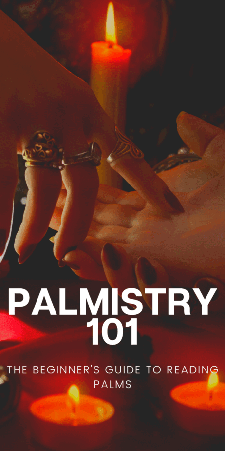 Learn the basics of palm reading! Add this information to your witch grimoire or book of shadows! Palmistry for women and men. Chiromancy palmistry. #palmistry #psychic #fortunetelling #fortuneteller #vintage #antique #1800s #chiromancy #witch #witchcraft #pagan #wicca #occult