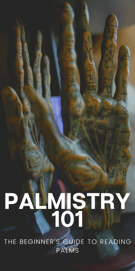 Palm reading for beginners. Add this information to your witch grimoire or book of shadows! Palmistry illustration and aesthetic. Palmistry triangle. #palmistry #psychic #fortunetelling #fortuneteller #vintage #antique #1800s #chiromancy #witch #witchcraft #pagan #wicca #occult