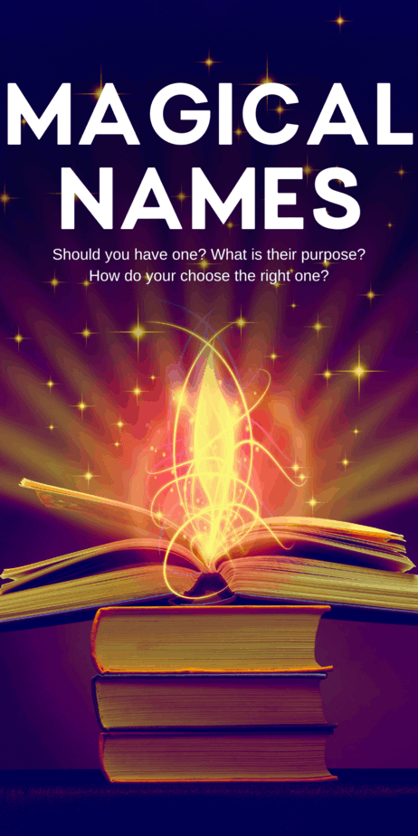 How to find your witch name. Learn more about paganism, witchcraft, and the occult on Eclectic Witchcraft. The best names for witches and Wiccans. Magical names are commonly chosen when one is initiated into the craft, when one joins a coven, or after studying witchcraft for a year and a day. They can be chosen by yourself or by someone else (or even by a deity!) #witch #witchcraft #names #pagan #paganism #wicca #wiccan #occult