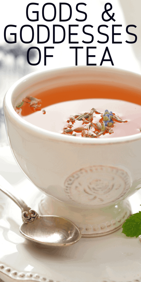The mythology of tea. A primer on the myths of tea for witches, Wiccans, and pagans. Tea aesthetic. Tea quotes. Spill the tea. Information for tea witches. Chinese mythology. Mythology gods. Hearth deities. Pagan for beginners. Pagan spirituality. Pagan witches. Wiccan symbols. Herbalism for beginners. Herbalism tea. Green witch aesthetic. #greenwitch #witch #witchcraft #tea #mythology #greentea #herbalism #herbal #pagan #wicca #wiccan #paganism #gods #goddesses #goddess #god #deity #witches