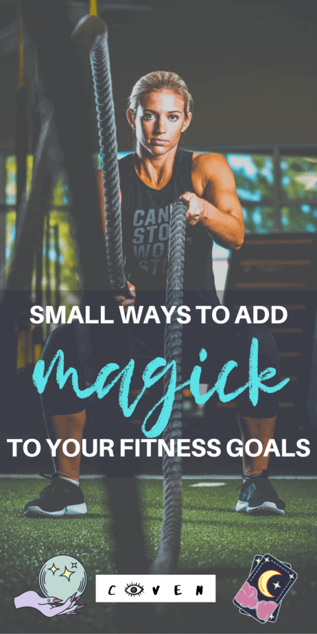 Add fire and passion to your fitness goals with these magical tips. Witchcraft can augment and improve your attempt to lose weight and become more fit! Fitness tips for women and witches. Use the fire element to add explosive energy to your work out. There are a number of deities that can aid us in working out and help us in building healthier, stronger bodies. Much like sex magic, fitness lends itself well to empowering sigils. #sigils #fire #witchcraft #witch #fitness #womensfitness #magic